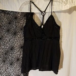 Sexy strappy summer top! Lightweight and flowing!